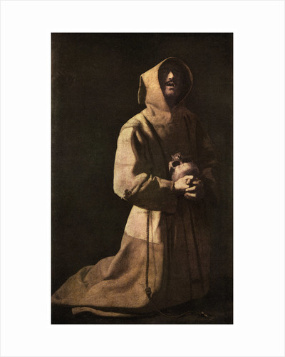 Sanctity: 'St Francis in Meditation' by Anonymous