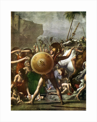 Hero worship: detail from 'The Intervention of the Sabine Women' by Anonymous