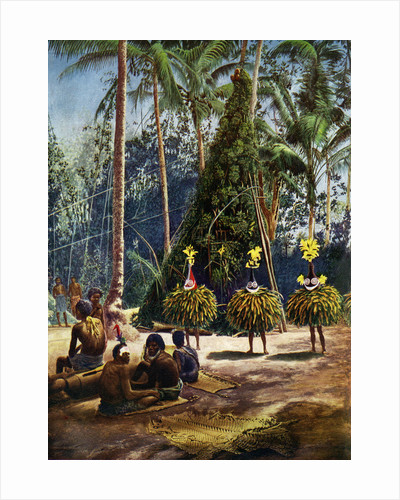 The Duk Duk society, Bismarck Archipelago, Papua New Guinea by Anonymous