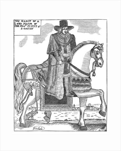 Sir Robert Titchborne, Mayor of London c1656 by Anonymous
