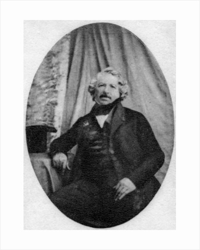 Louis Daguerre, French photography pioneer by Anonymous