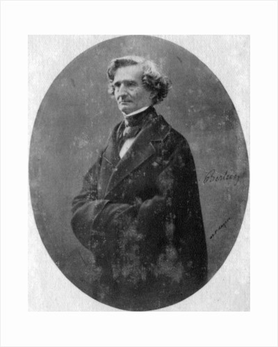 Hector Berlioz, French Romantic composer by Anonymous