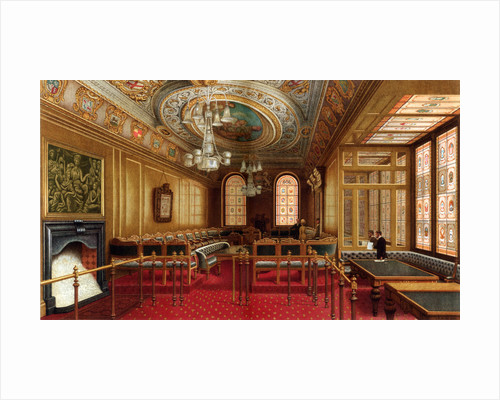 The Aldermen's Court Room, Guildhall, City of London by William Griggs
