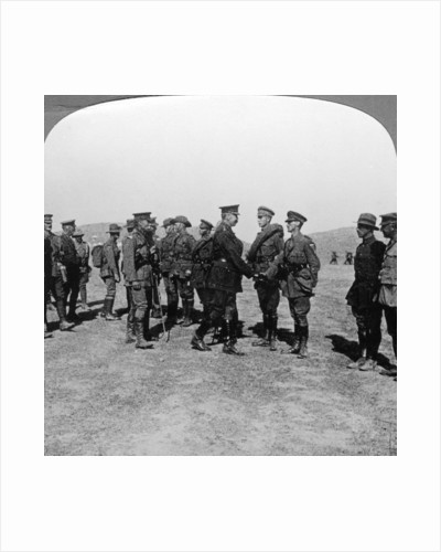 Lord Kitchener praises troops for their assaults at the Dardanelles, World War I by Realistic Travels Publishers