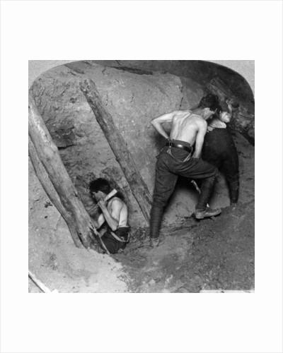Mining at Messines Ridge, Belgium, World War I by Realistic Travels Publishers
