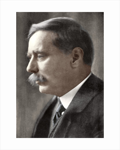 Herbert George Wells, British novelist by Emil Otto Hoppe