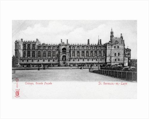 Facade of the Chateau of St Germain-en-Laye, France by Anonymous