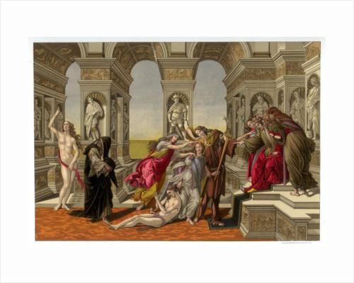 The Calumny of Apelles by Franz Kellerhoven