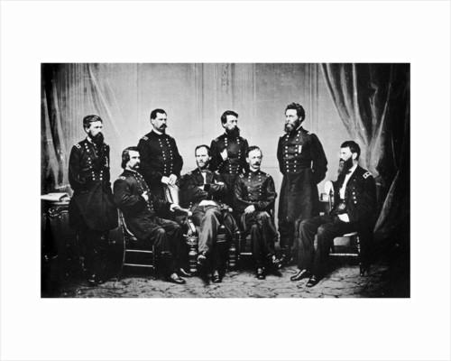William Tecumseh Sherman and his Generals, American Civil War by Anonymous