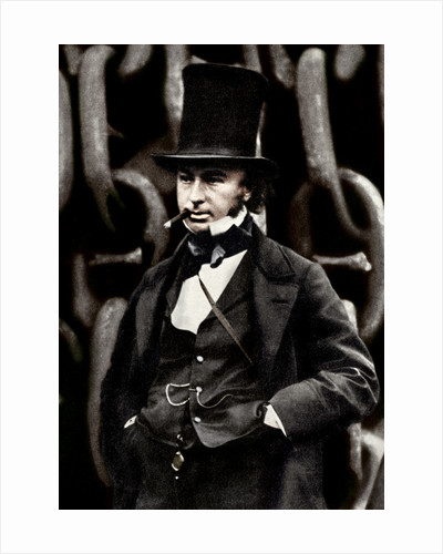 Isambard Kingdom Brunel, British engineer by Anonymous