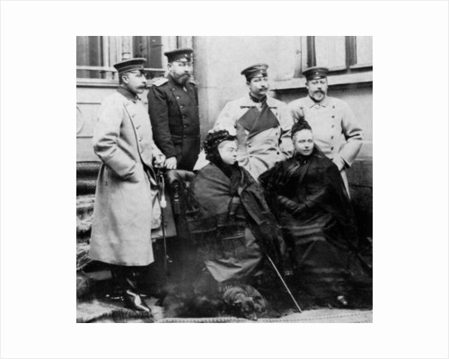 Members of the Royal Family at Coburg, Germany, April 1894 by Anonymous