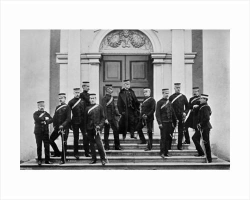 Field Marshal Lord Roberts and his headquarters staff, Kilmainham, Ireland by Lafayette