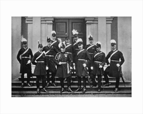Lord Wolseley and the headquarters staff in Ireland by J Robinson & Son