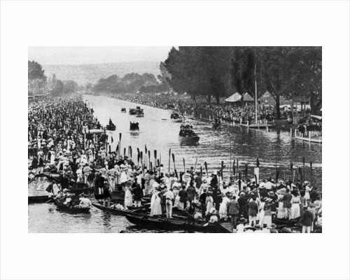 Henley Regatta, Oxfordshire, 6th July 1912 by Horace Walter Nicholls