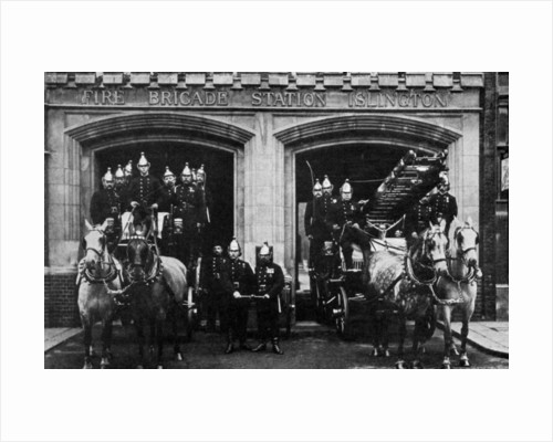 Islington fire brigade, London by Anonymous