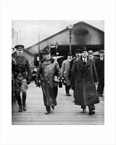British Prime Minister Herbert Asquith visiting Ireland by Anonymous