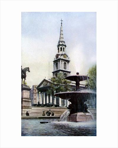 Church of St Martin-in-the-Fields, Trafalgar Square, London by Herbert Felton