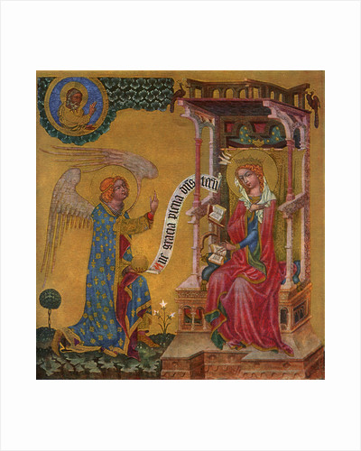 Annunciation of the Virgin Mary by Master of the Vyssi Brod Altar