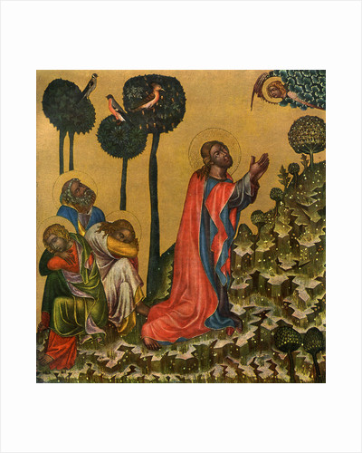 Jesus in the Olive Grove by Master of the Vyssi Brod Altar