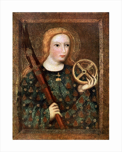 St Catherine by Master Theodoric