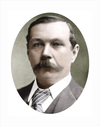 Arthur Conan Doyle, Scottish writer by Anonymous