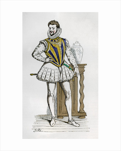 Henry I, Duke of Guise, French soldier and politician by Anonymous