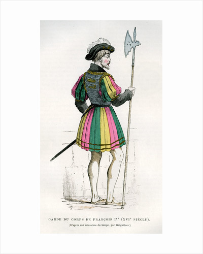 Life Guard or bodyguard of Francis I of France by Anonymous