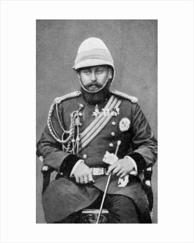 King Edward VII of the United Kingdom in military uniform by Anonymous