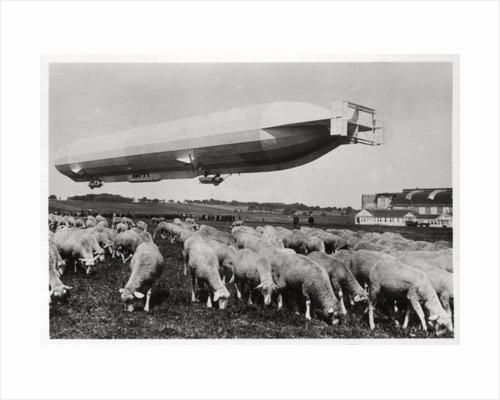 Zeppelin LZ8 'Deutschland II', Schwaben, Germany by Anonymous