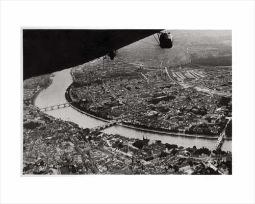 Aerial view of Basel, Switzerland, from a Zeppelin by Anonymous