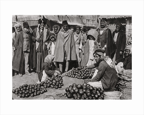 Fruit market in Baghdad, Iraq by A Kerim