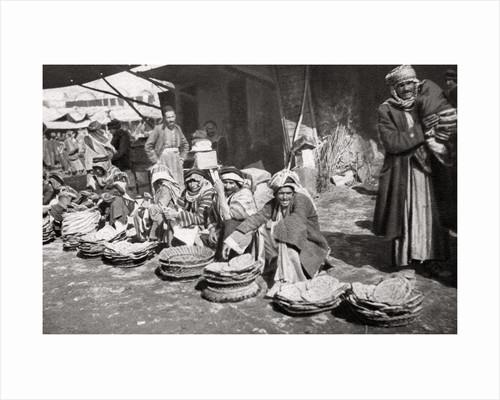 Suq El Khubur, a native bread market, Baghdad, Iraq by A Kerim