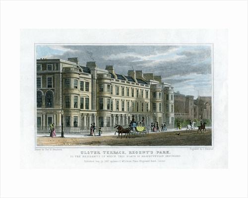 Ulster Terrace, Regent's Park, London by J Henshall