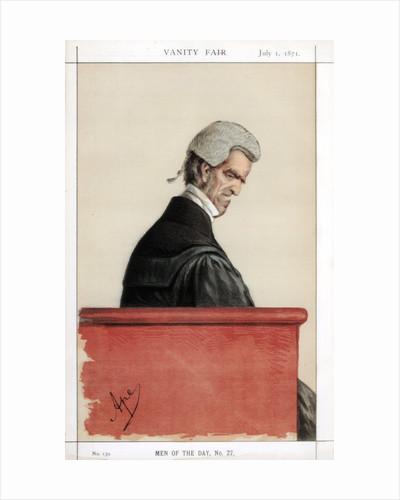 Sir John George Shaw-Lefevre, British barrister, politician and civil servant by Carlo Pellegrini