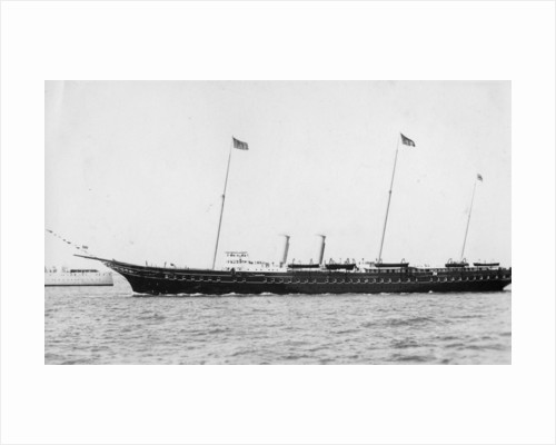 The Royal Yacht 'Victoria and Albert III' by Anonymous