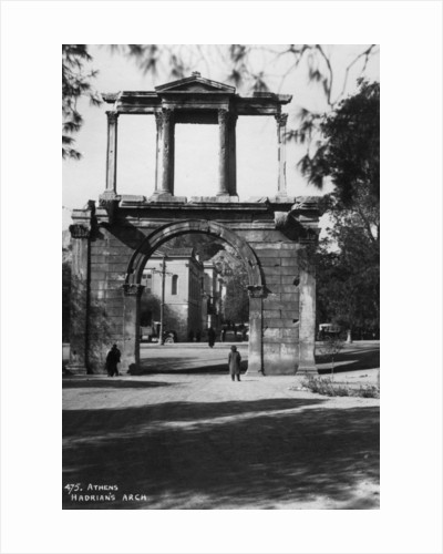 Hadrian's Arch, Athens, Greece by Anonymous