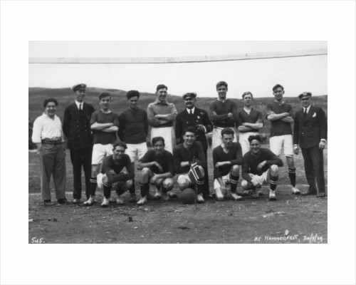 Football team, Hammerfest, northern Norway by Anonymous
