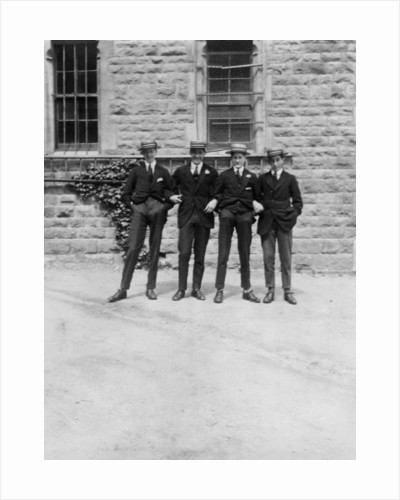 A group of schoolboys or students by Anonymous