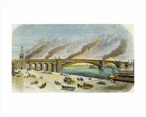 Eads Bridge, St Louis, Missouri, USA by Anonymous