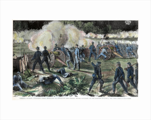 Battle of Cold Harbor, Virginia, American Civil War by Anonymous