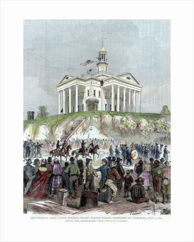 Capture of Vicksburg, Mississippi, by the Union army, American Civil War by Anonymous
