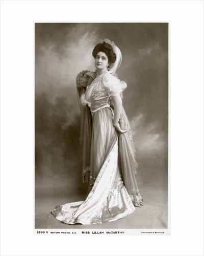 Lillah McCarthy, British actress and theatrical manager by Rotary Photo