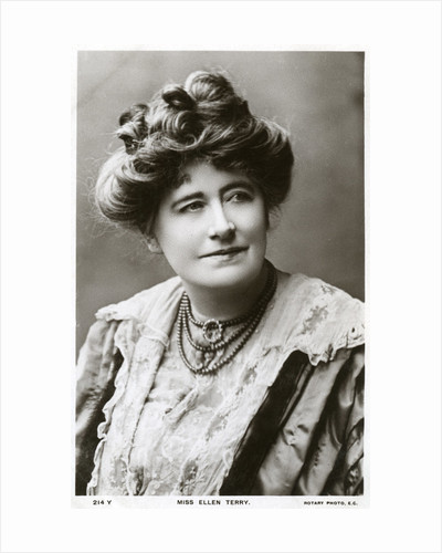 Ellen Terry, British actress by Rotary Photo