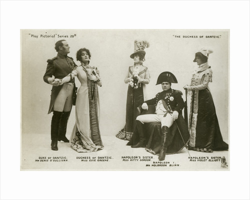 Members of the cast of The Duchess of Dantzic by Tuck and Sons
