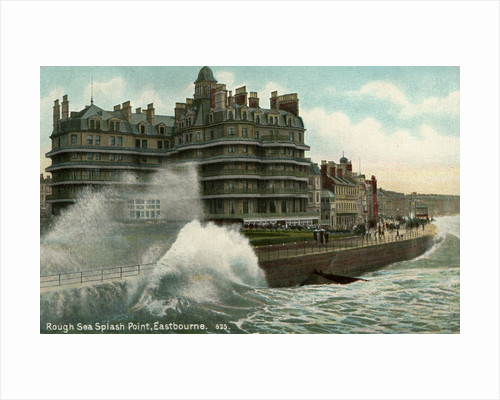 Rough sea, Splash Point, Eastbourne, Sussex by Anonymous