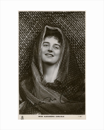 Alexandra Carlisle, British actress by Tuck and Sons