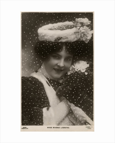 Madge Lessing, German actress by Anonymous