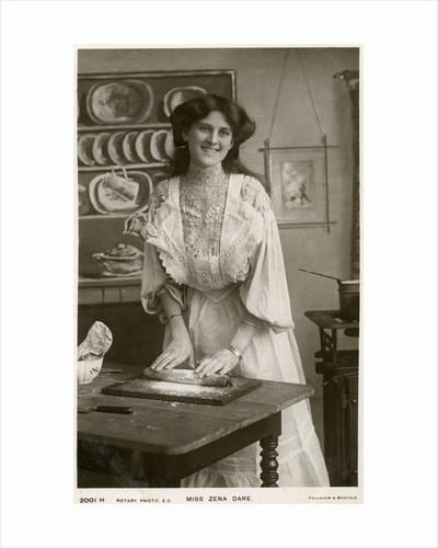 Zena Dare, British actress by Rotary Photo