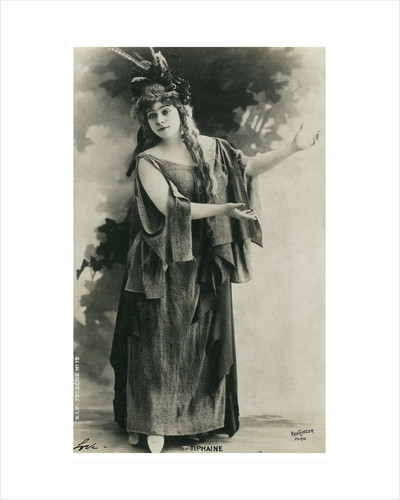 Tiphaine, French actress by Anonymous
