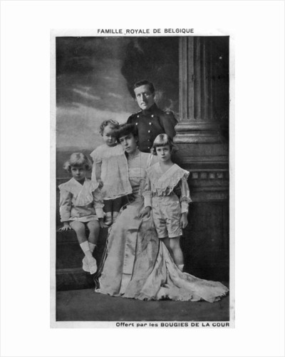 Belgian Royal Family by Anonymous